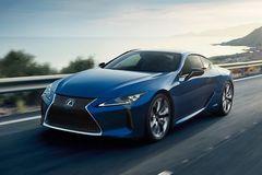 Новость о Lexus LC500h