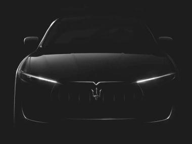 Компания Maserati показала тизер своего первого кроссовера