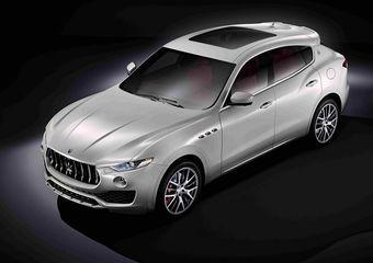 Европейские продажи Maserati Levante начнутся весной — после дебюта модели в Женеве.