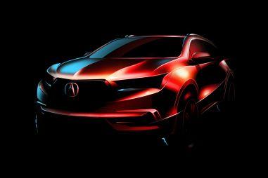 Acura покажет обновленный кроссовер MDX в марте