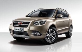 В России будут продавать обновленный Geely Emgrand X7