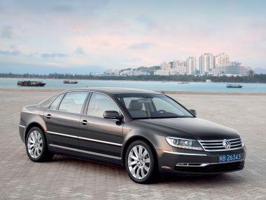 Volkswagen завершил производство флагманской модели Phaeton