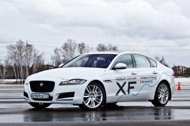 Начались продажи нового Jaguar XF. Базовая цена — 2,8 млн рублей