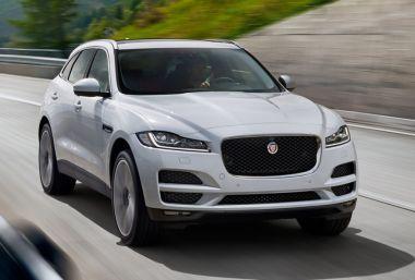 Цены на кроссовер Jaguar F-Pace в России: от 3,2 до 5 млн рублей