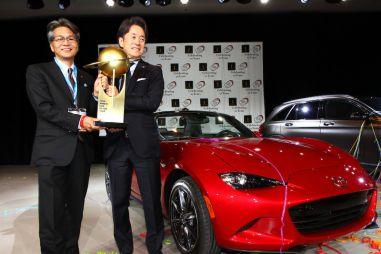 «Всемирным автомобилем года» стал родстер Mazda MX-5