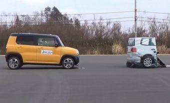 Автомобиль набрал максимальный балл за функцию автономного экстренного торможения и другие электронные системы.