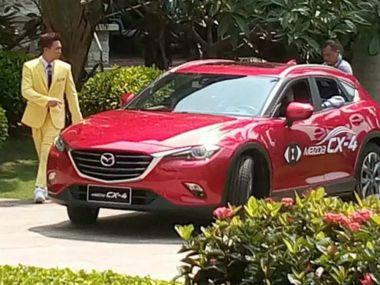 В интернете появились новые фотографии серийной версии Mazda CX-4