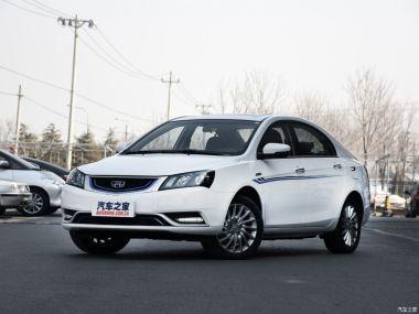 Популярный в России «китаец» Geely Emgrand EC7 обзавелся электрической версией