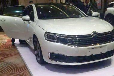 Citroen разработал новый бизнес-седан C6 вместе с китайцами. Опубликованы первые фотографии