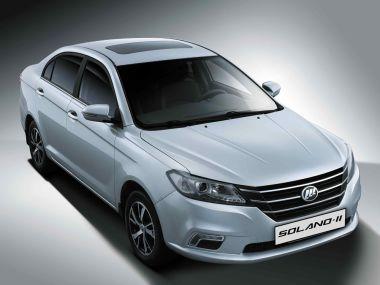 Lifan привезет в Россию Solano второго поколения