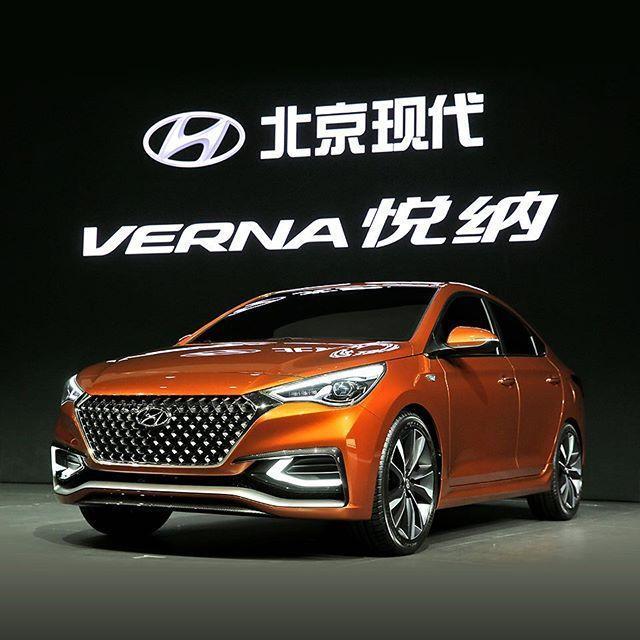 пекин автосалон 2014 hyundai verna