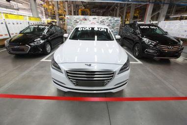 В Калининграде началась сборка трех новых моделей Hyundai
