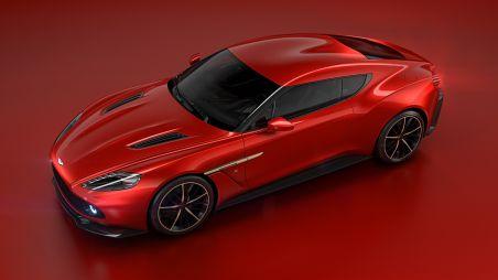 Итальянское ателье Zagato спроектировало новое купе для Aston Martin
