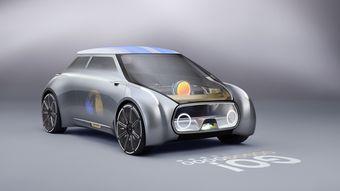 Mini Vision Next 100 обойдется без водителя, но ручной режим управления тоже предусмотрен.
