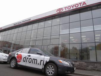 Toyota Camry российской сборки стала первой машиной, купленной Drom.ru для длительной эксплуатации в рамках проекта «Блоги русских машин на Drom.ru».