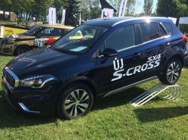 В интернете полностью показали внешность обновленного Suzuki SX4/S-Cross