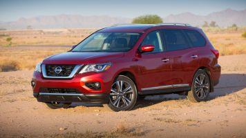В США представили обновленный Nissan Pathfinder