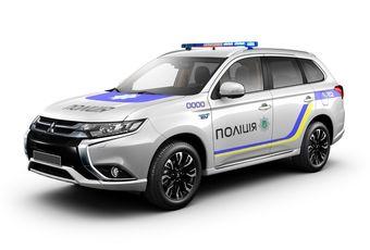 У украинских дилеров Mitsubishi Outlander PHEV стоит от $55 000, однако полицейские машины будут намного дороже из-за специального оборудования.