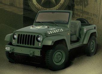 Машину собирали вручную на заводе Jeep в Толедо, США.