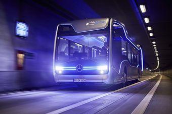 Концепт способен различать все элементы дорожной инфраструктуры, останавливаться для высадки и посадки пассажиров и спокойно ориентироваться даже в оживленном городском движении.