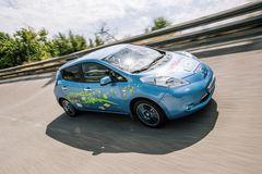 Новость о Nissan Leaf