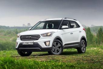 Hyundai Creta будет стоить в России от 749 900 рублей. Цены на VW Tiguan пока не названы