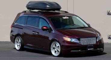 1029-сильный минивэн Honda Odyssey продадут на аукционе