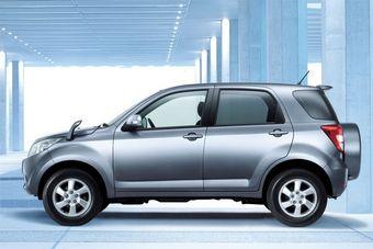 Toyota Rush и Daihatsu Be-Go – новые спортивные внедорожники