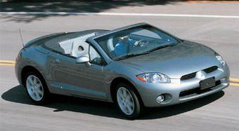 Mitsubishi Eclipse Spyder – машина, которой не будет в Японии