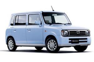 Маленькая Mazda Spiano преобразилась