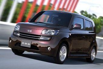 Daihatsu COO – новый автомобиль на базе Toyota bB