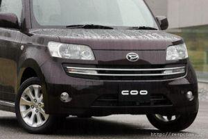 Daihatsu COO и Toyota bB – разные машины