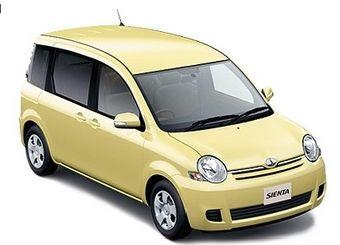 Toyota Sienta обновилась