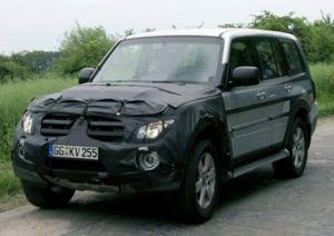 Новое поколение Mitsubishi Pajero появится в 2007