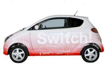 Электромобиль Subaru R1 для корпораций