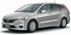 Honda Stream в комплектации X. Данный автомобиль может быть оснащен как двухлитровым двигателем, так и мотором объемом 1.8 литра.