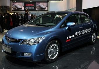 Honda Civic Hybrid оказался самым безопасным для окружающей среды гибридным автомобилем.