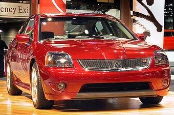 Русская версия автомобиля Mitsubishi Galant 2007 будет представлена на Московском автосалоне
