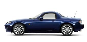 Mazda Roadster RHT выходит на японский рынок.