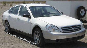 В настоящее время в США компанией Nissan проводятся испытания нового прототипа седана, созданного на базе автомобиля Teana, который располагается на ступеньку ниже модели Fuga.