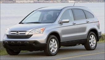 Официальные фотографии нового Honda CR-V 2007 опубликованы.