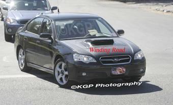 На просторах сети Интернет появились фотографии Subaru Legacy, которая в эти минуты проходит полевые испытания.
