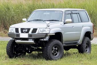 """""""Take Out"""" представил свой вариант внедорожника Nissan Safari для джип-триала."""