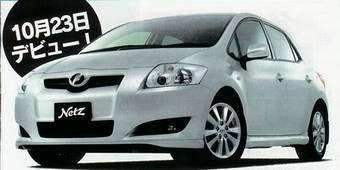 23 октября 2006 года компания Toyota представит в Японии новый автомобиль Toyota Orius.