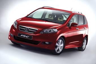 Honda FR-V, в Японии известаная как Honda Edix, прошла малую модернизацию.