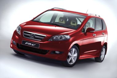Honda FR-V 2007 выходит в Европе