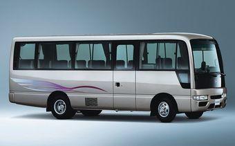 Причина отзыва автомобилей Nissan Civilian – ослабленный элемент рамы автомобилей.