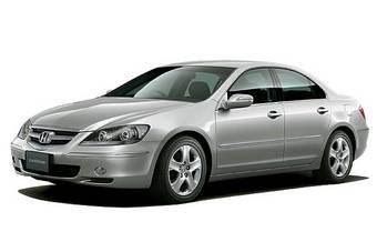 Honda Legend прошел малую модернизацию.
