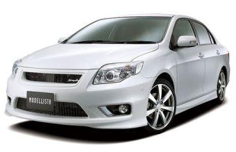 "Toyota Corolla Axio и Toyota Corolla Fielder получили ""аэродинамику"" от Modellista International."