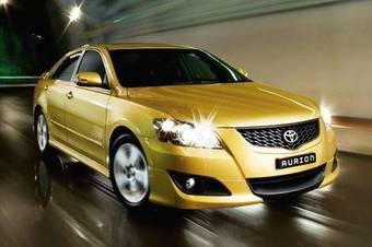 Toyota Aurion -это австралийский вариант Toyota Camry